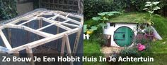 Zo bouw je een Hobbit huis in je eigen achtertuin.