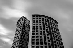 Skyscraper b&w by ThomasBarabino #architecture #building #architexture #city #buildings #skyscraper #urban #design #minimal #cities #town #street #art #arts #architecturelovers #abstract #photooftheday #amazing #picoftheday