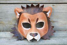 Leather Lion Mask by SilverCicada.deviantart.com on @DeviantArt