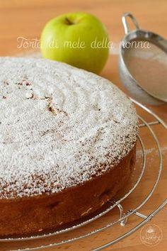 Torta di mele della nonna di Iginio Massari #trazuccheroevaniglia #iginiomassari #mele #tortadimele