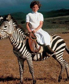 Iconic Ralph Lauren safari image, shot by Bruce Weber, 1984