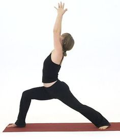 Get Fierce With This Sequence of Warrior Poses: Warrior I - Virabhadrasana I