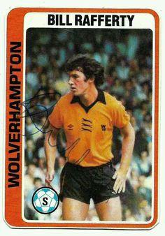 Bill Rafferty of Wolves in 1978.