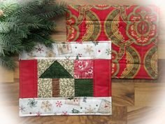 Quilted Mug Rugs Set of 2  Little by TheLittleQuiltShoppe on Etsy, $16.00