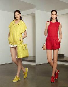 Hilary Blonde: Longchamp  Lookbook  colección moda primavera vera...