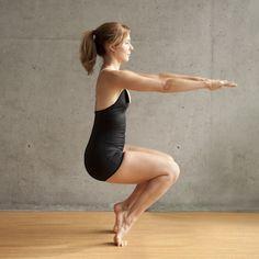 Bikram Yoga Pose.