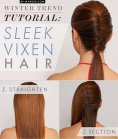 DIY: Winter Hairstyle