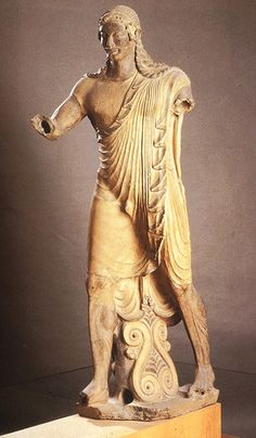 Apollo of Veii, Archaic Style, Veii by benne_m, via Flickr