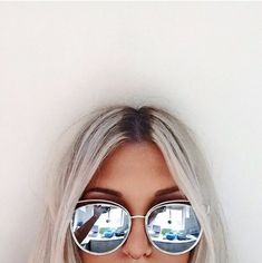 2016 New Flat Mirror Sun Glasses For Women Gold Frame lunette de soleil femme Metal Cateye Shades Chic Ladies Summer Sunglass(China (Mainland)) Lunette Style, Outfit Essentials, Tumblr Girls, Mode Inspiration, Mode Style, Sunnies, Mirrored Sunglasses, Sunglasses Sale, Sunglasses Online