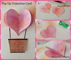 Tarjeta para San Valentin! paso a paso en www.facebook.com/Susanitasparty ó instagran @ susanitasparty #ideas #cards #sanvalentinescards #sanvalentin #loveday #diadelamor #corazon #tarjeta #susanitasparty #talentovenezolano