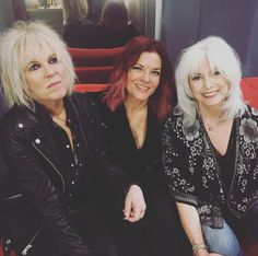 Lucinda Williams, Rosanne Cash and Emmylou Harris.