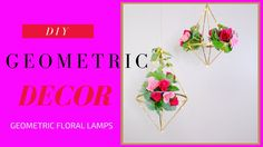 Geometric decor is the latest trend in Wedding and home decor. They are truly beautiful and very easy to make! In this video I'm going to s. Wedding Playlist, Wedding Videos, Geometric Lamp, Geometric Designs, Kids Party Decorations, Diy Wedding Decorations, Centerpiece Rentals, Dollar Tree Wedding, Making Wedding Invitations