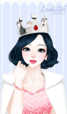 Shared by princess. Find images and videos about anime, girly and lovely on We Heart It - the app to get lost in what you love. Girls In Love, Cute Girls, Pretty Girls, Korean Illustration, Girly M, Cute Girl Wallpaper, Bow Wallpaper, Kitty Wallpaper, Kawaii Wallpaper