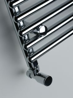 Polished designer towel rails from Simply Radiators.