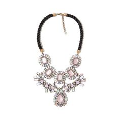 Big & Bejeweled: Winter's Must-Have Gems ❤ liked on Polyvore featuring necklaces