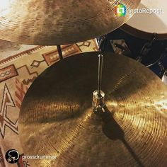 """@prossdrummer picked himself up one of the limited edition brass clutches a couple weeks ago and is sportin it on those nice 15"""" 30 year anniversary @istanbulagop hats! Thanks for the pic bro!  #drumporn #hihatporn #drummerscorner #officialdg2g #drums #coolnessfordrums #modern_drummer #drummag #drumfam #royalnuts #180drums #bateria #baterista #customhihatclutch by sweet_spot_clutches"""