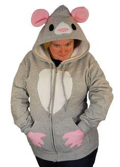 Rat Hoodie $58
