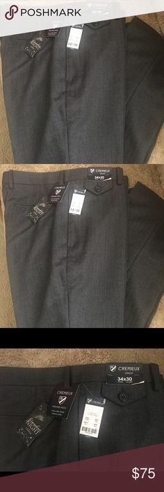Daniel Cremieux dress slacks Grandeur KIGHT COLLECTION wool trousers Daniel Cremieux Pants Dress