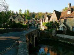 Cotswolds-UK (英国田園思慕,Beautiful countryside in by Minako Shoh, via Behance