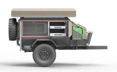 Mission Trailers - off-road family camper trailer built for Australia
