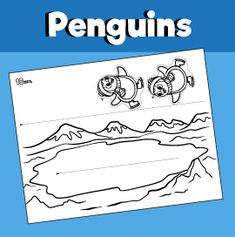 Penguin – 10 Minutes of Quality Time Penguin Coloring Pages, Art For Kids, Crafts For Kids, Truck Crafts, Penguin Craft, Stars Craft, Sunday School Crafts, Celebration Quotes, Winter Activities