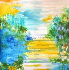 Amnesia - acrylic painting