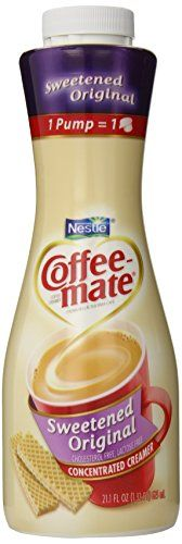 Coffee-mate Coffee Creamer, Sweetened Original Table-Top Pump Bottle, 625ml, 21.1-Ounce >>> To view further for this item, visit the image link.
