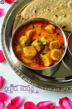 Desi Fiesta : Rajasthani Cuisine - Gatte ki sabzi
