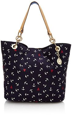Tommy Hilfiger Signature Tote with Flat Handles, Navy/Red/White, One Size Tommy Hilfiger http://www.amazon.com/dp/B0009PAMG8/ref=cm_sw_r_pi_dp_5torvb12A4G1R