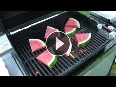 Chef Justin shows us how to grill watermelon for a unique twist on a summer classic. --Z's Note: This is a great example of grilling fruit. Try grilling pineapple, cantaloupe, or other fruits you enjoy. Even grill citrus like lemons, limes, or oranges. Replace tomatoes with grilled pineapple in a homemade salsa and serve with fish! -Z-