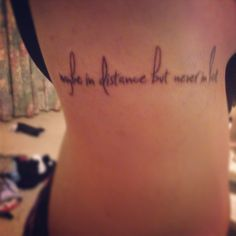 Heart and distance on pinterest for Together forever tattoo