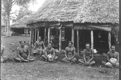 This photograph is one of around 30 images taken during the outbreak of hostilities in Samoa in 1899. This war was the legacy of an earlier dispute between the Samoan chiefs Tamasese and Malietoa which had erupted in 1888-1889 after the heavy handed involvement of British, German and American in Api...