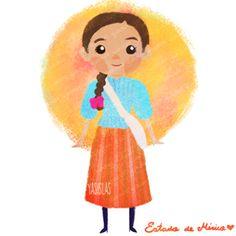 México colores y diseños de sus trajes típicos Estado de México