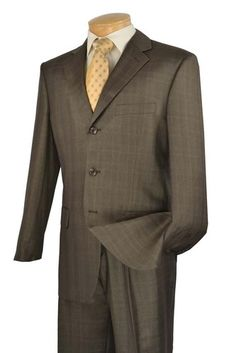 2 Piece Windowpane Suit, $99.99