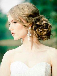 beautiful updo long wedding hairstyles Wedding Hairstyles for Long Hair Half Up