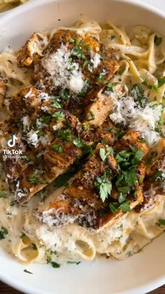 Pasta Sauce Recipes, Chicken Recipes, Pasta Dishes, Food Dishes, Restaurant Recipes, Dinner Recipes, Work Meals, Easy Meals, Yummy Food