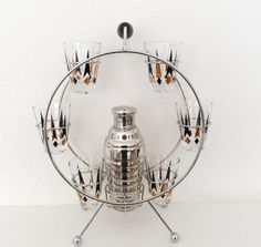 Ferris Wheel Shaker and Shots Holder by GhianniModBarWare