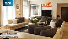 For the newer looking branded royal #homes, this extraordinary residential project offers 2,3BHK #apartment in a sprawling #land with extensive greeneries around. #MGI_Maple, luxurious #residential project by #MGI_Group in Govindpuram, Ghaziabad. See more @ http://bit.ly/1soao5u