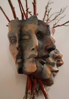 Pagesofme - a different angle by on DeviantArt - Sculpture & Onwards - Pagesofme – a different angle by (susie mcmahon) - Sculpture Projects, Sculpture Clay, Art Sombre, 3d Art, Creation Art, Art Plastique, Oeuvre D'art, Ceramic Art, Amazing Art