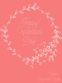 Happy Valentine's Day everyone! I hope you have a joy-filled day, surrounded by those that you love. Take this day to indulge, whether it be on love or chocolates. You deserve it!