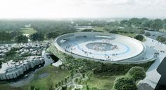 """BIG proposes cage-free """"Zootopia"""" redesign for iconic Danish zoo   Bustler"""