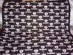 Raiders quilt for