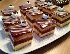 Dit keer de vulling van een ander lid geprobeerd. Mini pastili recept van Israe Maram, ik heb wel eigen cake gebruikt. Ik heb gewoon 2 cakes gebakken 1 wit en 1 bruin en dan snijd je de cakes door middel en dan vullingen gebruiken. Always Hungry, Mini Pies, Dessert Bars, Tiramisu, Cheesecake, Ethnic Recipes, Desserts, Buffet, Tailgate Desserts