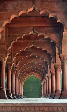 Another view of the Archway... Red Fort...Delhi... India...beautiful....