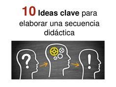 10 ideas clave para elaborar una secuencia didáctica.