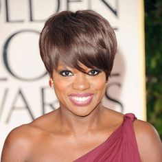 Viola Davis wiki, affair, married, Lesbian with age, height, actress, Cute Hairstyles For Short Hair, Popular Hairstyles, Black Women Hairstyles, Diy Hairstyles, American Hairstyles, Medium Short Hair, Short Hair Cuts, Short Hair Styles, Pixie Cuts