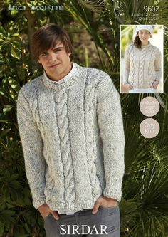 free sirdar mens knitted sweaters - Google Search