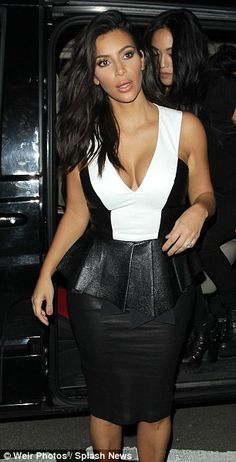Moving on up: Kim, who revealed she would love to live in London has said that she plans t...