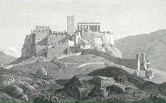 Reconstrucción de la acrópolis