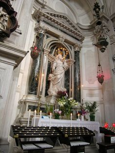 San Marcuola - Venice, Italy - Virgin & Child